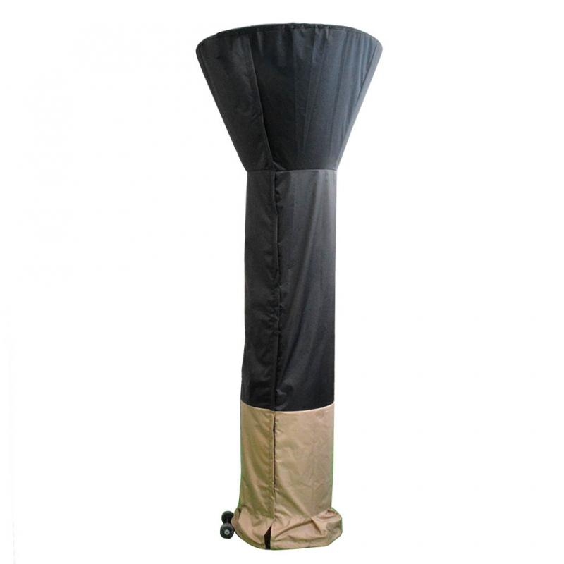 Stanbroil Standup Patio Heater Cover, Black/Camel, 34