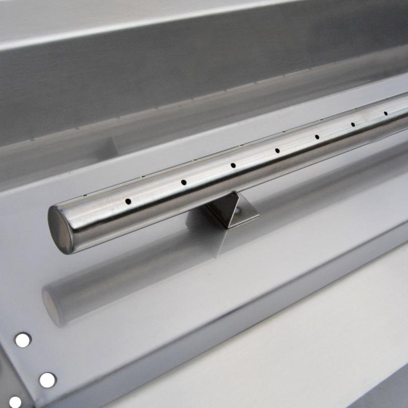 Stanbroil Stainless Steel Linear Trough Drop In Fire Pit