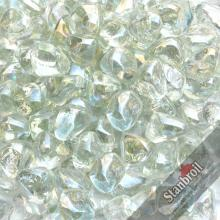 Stanbroil 10-Pound 1/2 Inch Fire Glass Diamonds for Fireplace Fire Pit, Crystal Ice Luster