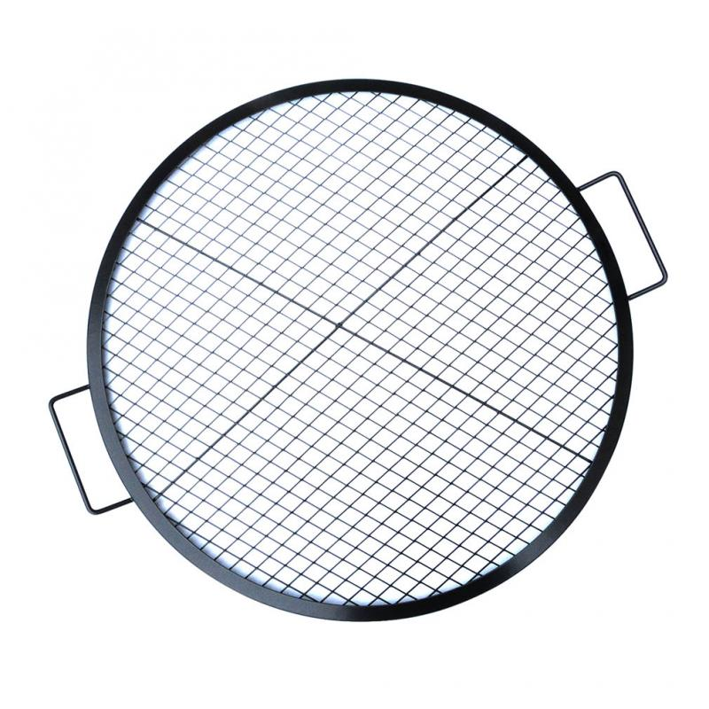 Stanbroil Heavy Duty X-Marks Round Fire Pit Cooking Grate Grill with Support Frame, 36-Inch