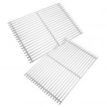 Stanbroil Replacement BBQ Stainless Steel Grill Cooking Grate Fits for Weber Genesis II 300 Series Gas Grills, Set of 2 - G023-RS