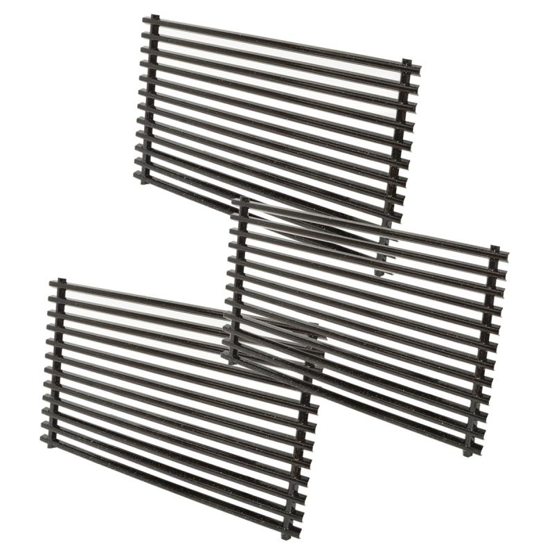 Stanbroil Replacement BBQ Porcelain-Enameled Grill Cooking Grate for Weber Genesis II and Genesis II LX 400 Series(2017), Set of 3