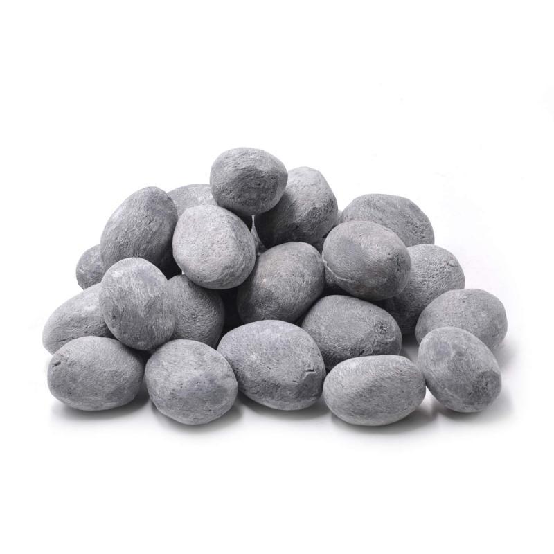 Stanbroil 24pcs Light Weight Ceramic Fiber Pebble Stones