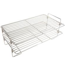 Stanbroil 17 Inch Universal Stainless Steel Smoke Shelf/Warming Cooking Rack for Treager and Other Wood Pellet Grills/Gas Grills