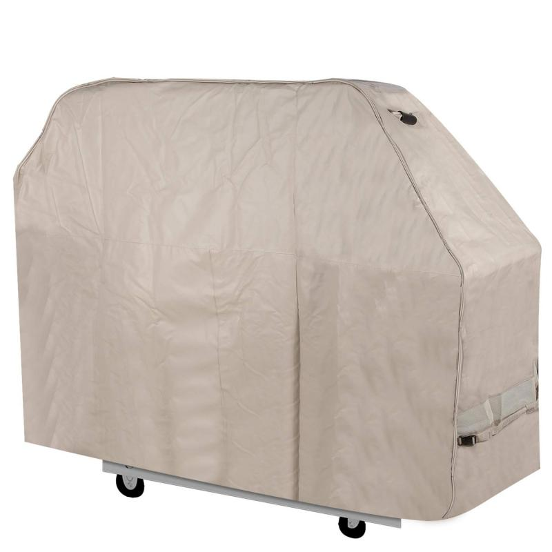 Stanbroil Waterproof Heavy Duty BBQ Grill Cover,Beige,Large