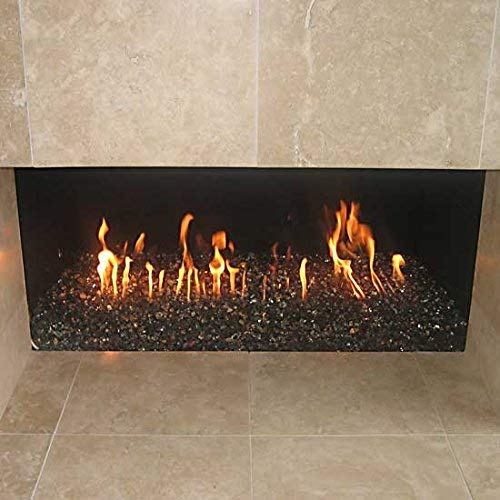 Stanbroil Rectangular Stainless Steel Gas Fireplace H-Burner, 24x6 Inch