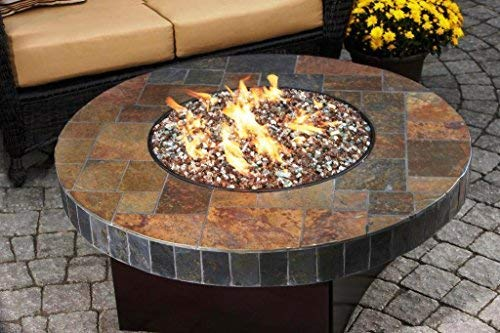 Stanbroil Stainless Steel Round Drop-In Fire Pit Burner Ring Pan, 13-Inch