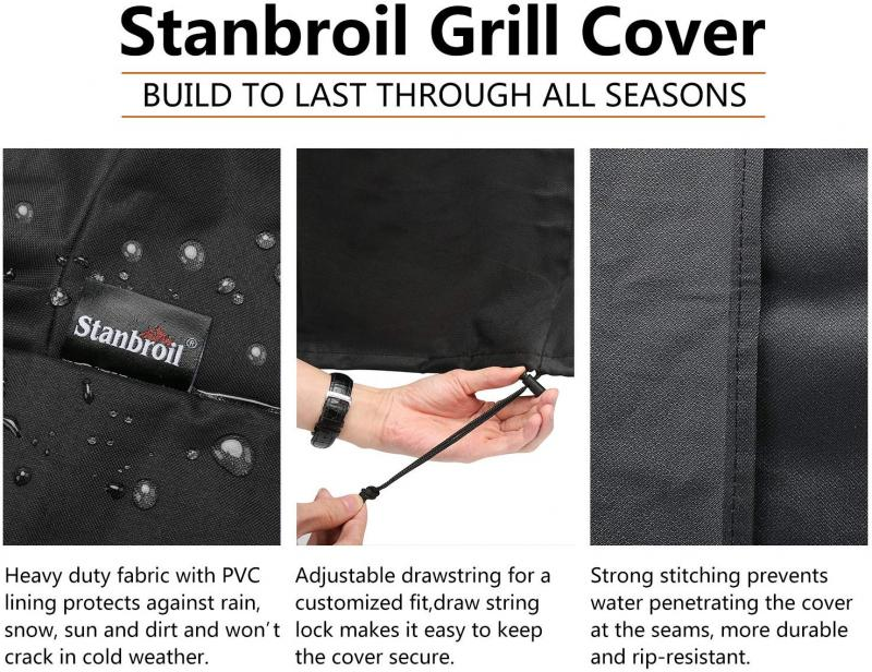 Stanbroil Durable and Water Resistant Cover - Fits Char-Broil's The Big Easy Oil-less Turkey Fryer