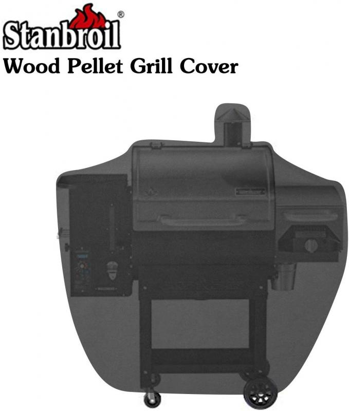 Stanbroil Heavy Duty Full Size Waterproof Wood Pellet Grill Cover for Camp Chef Patio Cover DLX 24