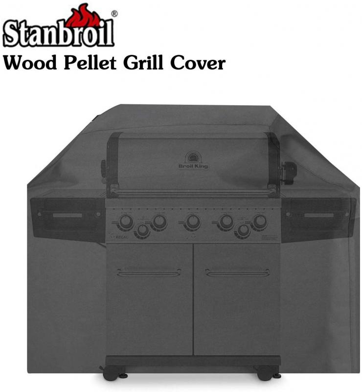 Stanbroil Heavy Duty PVC Polyester Full Length Grill Cover for Broil King Gas Grills Baron 400 Series