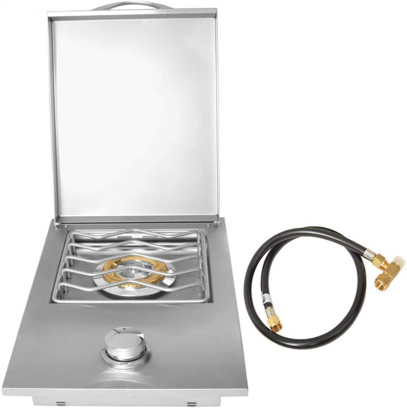 Stanbroil Stainless Steel Drop-in Gas Single Side Grill Burner Gas Type: Propane