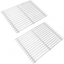 Stanbroil Stainless Steel Cooking Grates Fit Weber Spirit 500, Genesis Silver A and Spirit 200 Series (with Side Control Panels) Gas Grills, Replacement Parts for Weber 7521 7522 7523 65904 65905