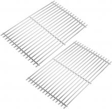 Stanbroil Stainless Steel Cooking Grates Fit Weber Spirit 300 Series,Spirit 700, Genesis Silver B/C, Genesis Gold B/C, Genesis Platinum B/C Gas Grills, Replacement Parts for Weber 7639