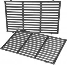 Stanbroil Cast Iron Cooking Grates Fit Weber Spirit 300 Series, Spirit 700, Genesis Silver B/C, Genesis Gold B/C, Genesis Platinum B/C Gas Grills, Replacement Parts for Weber 7638 7639 7525 7527