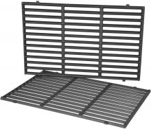 Stanbroil 19.5 Inch Cast Iron Cooking Grates Fit Weber Genesis 300 Series E310 E320 E330 S310 S320 S330 EP310 EP320 , Replacement Parts for Weber 7524 7528