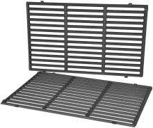 Stanbroil Cast Iron Cooking Grate for Weber Genesis II and Genesis II LX 300 Series Gas Grills, Replacement Parts for Weber 66095, Set of 2