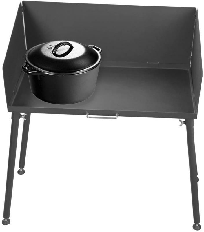 Stanbroil 30 Inch Camp Cooking Table With Legs Fits 2 Camp