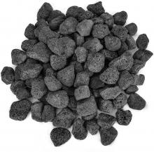 Stanbroil 10 Pounds Black Lava Rock Granules, Decorative Landscaping for Fire Bowls, Fire Pits, Gas Log Sets, Indoor or Outdoor Fireplaces