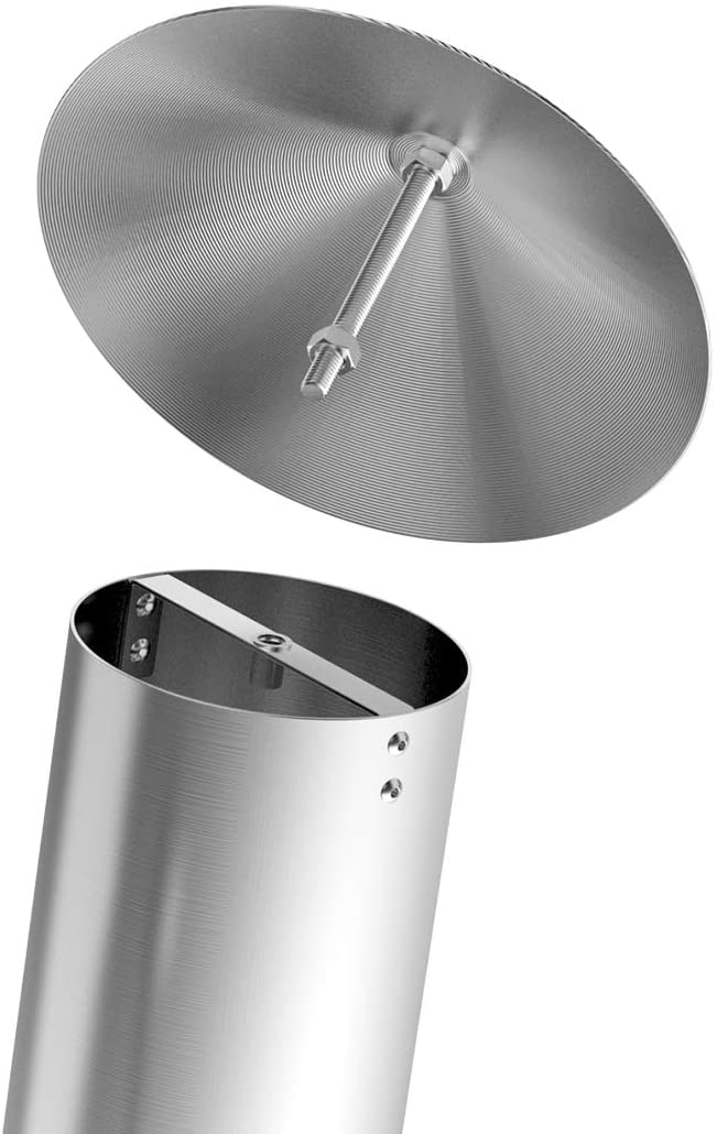 Stanbroil Stainless Steel Pellet Grill Smoke Stack Chimney Cap Kit Replacement for Camp Chef, Pit Boss, Traeger and Other Pellet Grills Smokers